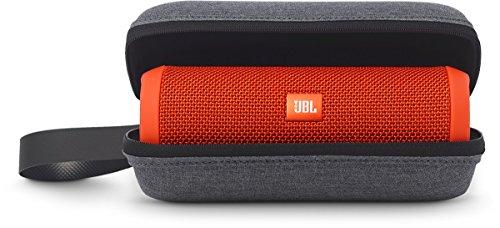 JBL Tragetasche mit Handschlaufe Hochwertig und Robust Kompatibel mit Flip, Flip 2 und Flip 3 Bluetooth Lautsprecher - Grau