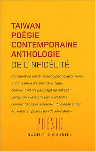 De l'infidlit : Anthologie de la posie contemporaine de Tawan