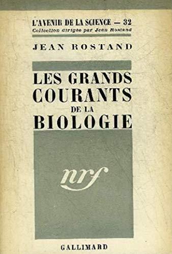 Les Grands courants de la biologie (Aven Science) (French Edition)