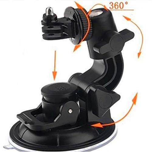 eliaSan Toy Saugnapf für Gopro Mount Auto Windschutzscheibe Fenster Fahrzeug Boot Kamera Halter für Für DJI OSMO Action Für GoPro Hero4 (Game Cam-locks)