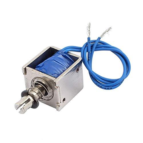 ELENXS JF 0826B 12V / 2A Zurücksetzen DC 10mm 20N Kraft Push-Pull-Typ Open Frame Solenoid-Elektromagnet-Werkzeug -