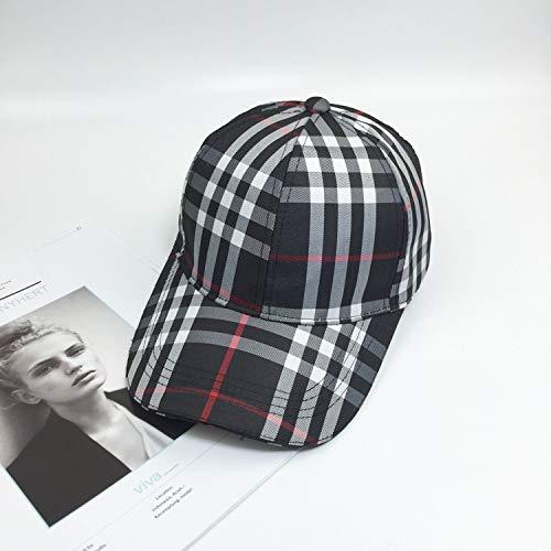 Das Ist England Kostüm Designer - mlpnko Klassische Plaid-Hut-Kappe Weibliche England-Plaid-Baseballmütze Schwarze