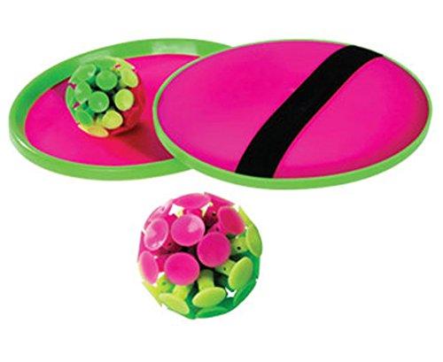 Betzold  33430– Stick-Ball-Set: 2 Handteller, 1 Stick-Saugnapfball