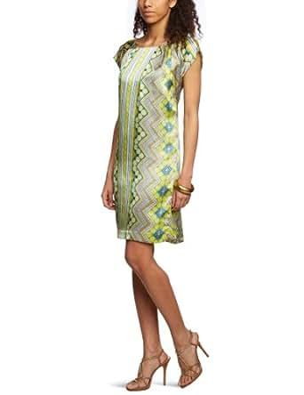 MEXX METROPOLITAN Damen Kleid (knielang) 6BCTD005, Gr. 36 (S), Grün (301)