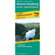 Diemel-Radweg, Usseln - Bad Karlshafen: Leporello Radtourenkarte mit Ausflugszielen, Einkehr- & Freizeittipps, wetterfest, reissfest, abwischbar, GPS-genau. 1:50000 (Leporello Radtourenkarte / LEP-RK)