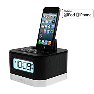 iHome iPL10 - Radiouhr mit Apple-Dock-Cradle