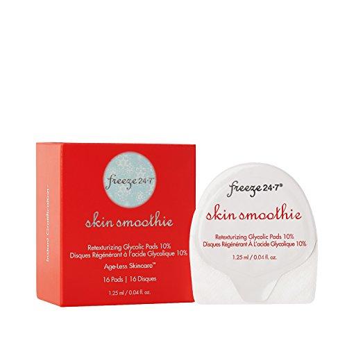 Freeze 24-7 Skin Smoothie Retexturizing Glycolic Pads 10pct