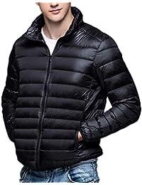 HaiDean Mens Down Jacket, Ultraligero La De Abajo Cuerpo Modernas Casual Chaqueta Acolchada S 3XL