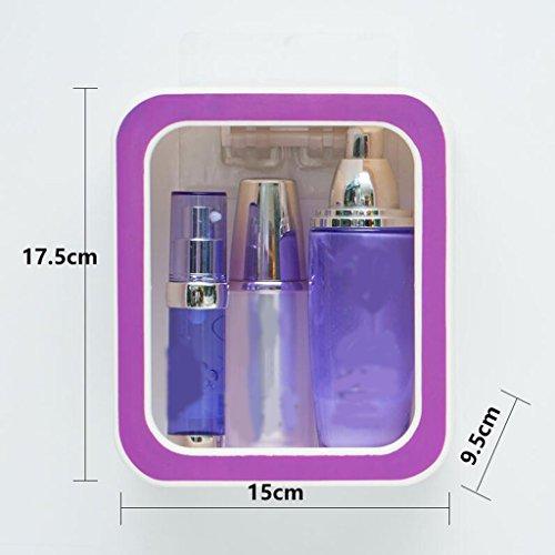 Tapis de bain Xuan - Worth Having Créative numéro 0 Style Violet Porte-Savon Ventouse Type étagère