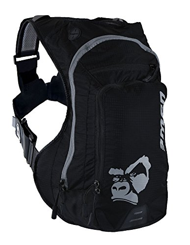 USWE Sports Ranger 9 Hydration Pack, Carbon Black, One Size (Pack Hydration Kit)