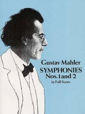 DOVER MAHLER G. - SYMPHONIES N°1 & 2 - FULL SCORE Klassische Noten Partitur