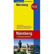 Falk Stadtplan Extra Standardfaltung Nürnberg