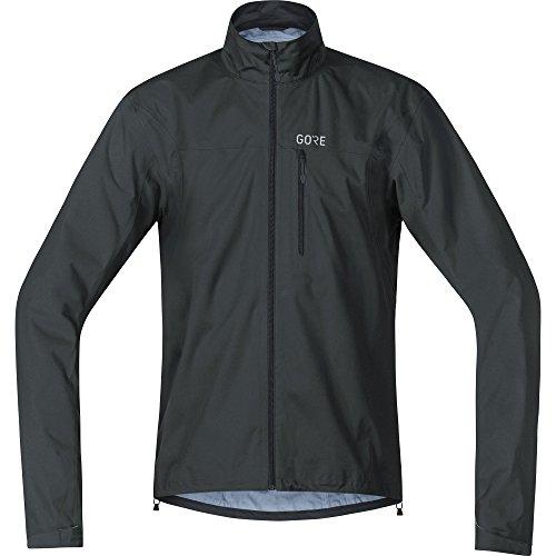 Gore Wear Chaqueta Impermeable de Ciclismo para Hombre, XXL, Negro, 100034