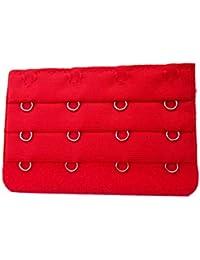 0024fa70136fa Voberry Women s Soft Bra Extender Strap Extension 4 Hooks Bra Hooks Extender