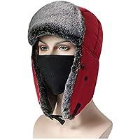 Windproof Hat Sombrero De Invierno A Prueba De Agua Caliente Hombres Y Mujeres De La Nieve Gorra De Viento Caliente Orejeras Lei Feng Cap,D