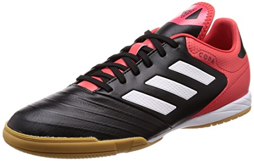 adidas Copa Tango 18.3 In, Chaussures de Football Homme Noir (Core Black/footwear White/real Coral)