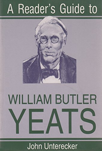 A Reader's Guide to William Butler Yeats (Irish Studies)