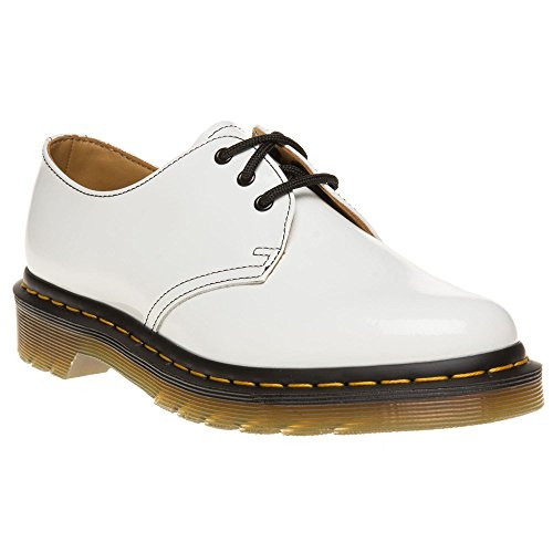 Dr Martens 1461 Femme Chaussures Blanc