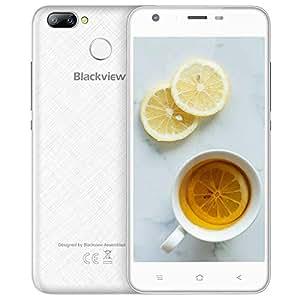 "Smartphone in Offerta, Blackview A7 Pro 16GB ROM Dual SIM Telefono Cellulare 4G, 2800mAh 5.0"" Smartphone Economico, Fotocamera 8MP+5MP Android Smartphone, GPS, Bluetooth 4.1, FM- Bianca"