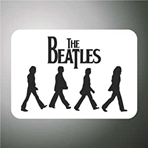 Sticker «Les Beatles» Hip Hop Rap Jazz Hard Rock Métal Pop Funk 32 cm