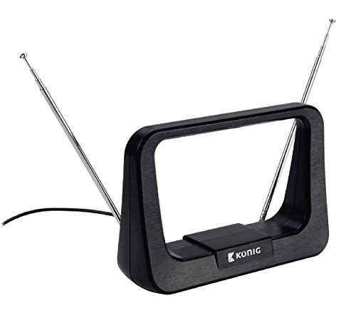König UKW/VHF/UHF/DVB-T Zimmerantenne (5-7dB)