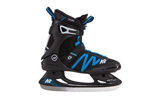 K2 Herren Schlittschuhe FIT ICE PRO, Schwarz/Blau, 46, 25B0002.1.1.120