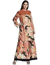 AL - Indian Luxury Women's Chiffon Straight Salwar Suit Set