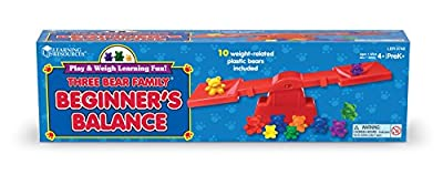 Learning Resources The Original Three Bear Family Beginner's Balance Set by Learning Resources