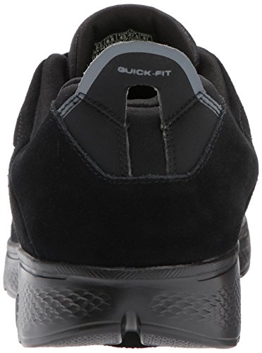 Skechers Go Walk 4, Chaussures de Running Homme, Schwarz (Black) Noir (Black)
