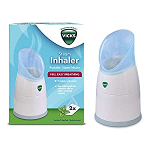 Vicks Personal Steam Inhaler with Two Scent Pads
