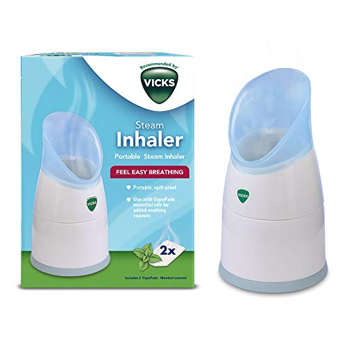 Vicks Personal Steam Inhaler with Two Scent Pads Included