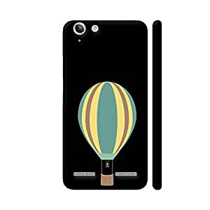 Colorpur Lenovo Vibe K5 / K5 Plus Cover - Colourful Hot Air Balloon Printed Back Case