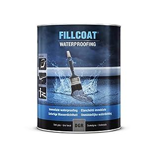 RUST-OLEUM 25.DGR.1 Fill coat, Instant Waterproofing In Any Weather, Dark grey
