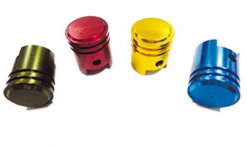 Preisvergleich Produktbild Tuning Ventilkappe Piston in schwarz mit glattem Zylinder von SCOOCART
