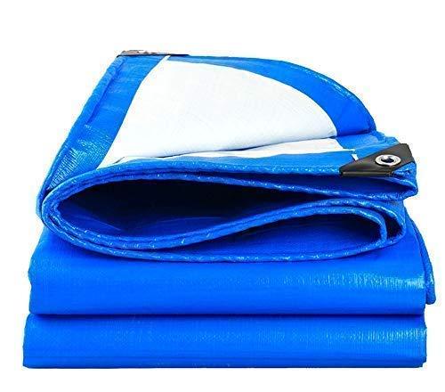 Preisvergleich Produktbild ARNCEE schweren tarp plane dick 3m x 4m 9ft x13ft (3 x 4 m),  pe plane wasserdicht blauen segeltuch blatt premium qualität auf plane für outdoor camping
