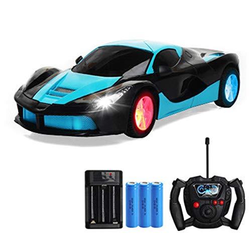 jouets pour enfants 4 roues flash dérive à quatre voies voiture télécommandée jouets pour enfants garçons charge voiture électrique à télécommande voiture Cadeaux d'anniversaire pour garçons de Puzzle