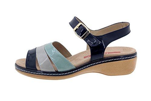 Scarpe donna comfort pelle Piesanto 4811 sandali soletta estraibile comfort larghezza speciale