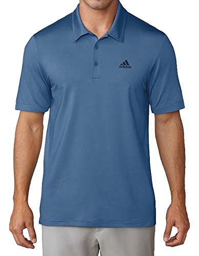 Adidas Ultimate 365 Solid Polo Golf, Herren XL blau (Xl Ultimate Herren Polo-shirt)