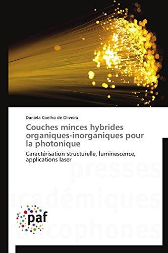 Couches minces hybrides organiques-inorganiques pour la photonique par Daniela Coelho de Oliveira