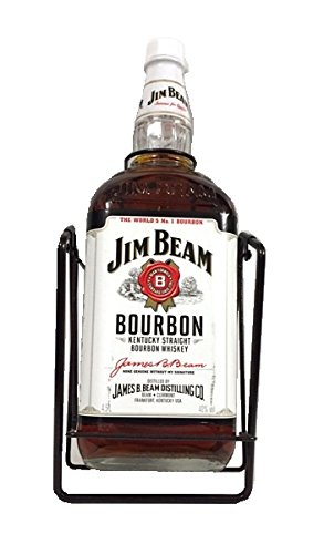 Jim Beam mit Wippe Kentucky Straight Bourbon Whiskey 40% 4,5l Großflasche