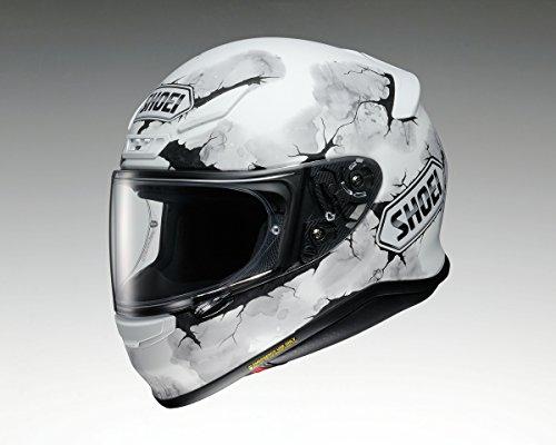 Shoei NXR Casco Integrale da Moto Ruts TC 6Bianco