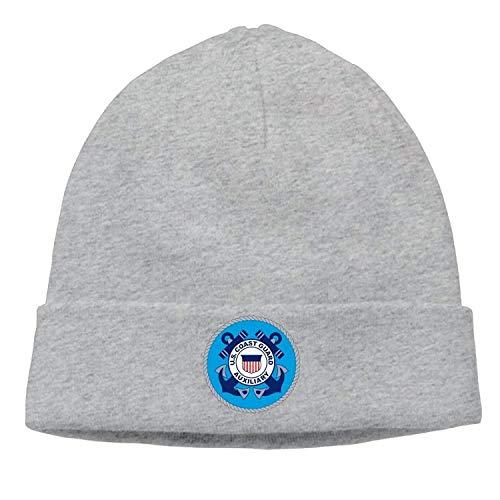 Wamnu United States Coast Guard Auxiliary Unisex Sport Hipster Beanie Cap&Hip-hop Cap&Set Head Cap&Skull Cap&Toboggan Cap (Street Sharks Kostüm)