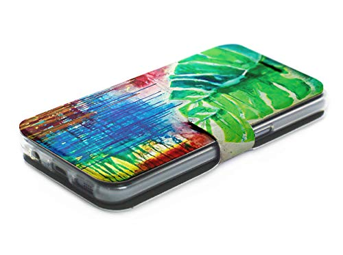 MOBIWEAR Book Style Handy Motiv Tasche Flip Case Cover Hülle für LG X Mach - MF04S