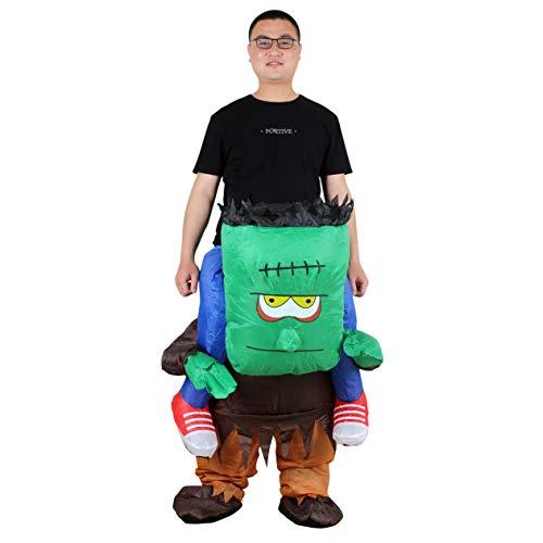 Aufblasbares Kostüm Frankenstein Fasching Karneval