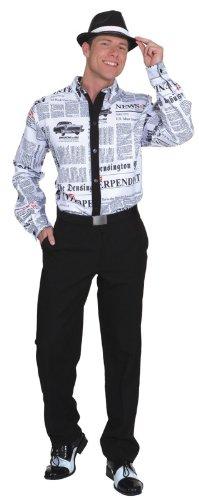 Kostüm Reporter - Orlob Hemd Newstime zum Herren Kostüm Reporter an Karneval Gr.52/54