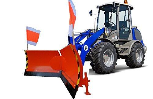 Vario Schneeschild Euroaufnahme V 225 cm hydraulisch Schneeschieber Winterdienst