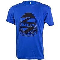 Siux Camiseta Entrenamiento Azul Logo Negro