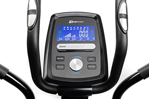 Hop-Sport Crosstrainer HS-060C Ergometer Elliptical Heimtrainer mit Bluetooth Smartphone Steuerung - 5