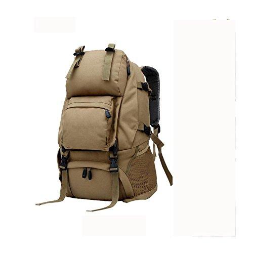 Rucksack 40L Outdoor Travel Backet Reise Bergsteigen Tasche khaki