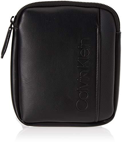 Calvin Klein Jeans - Elevated Logo Mini Flat Crossover, Shoppers y bolsos  de hombro Hombre dca7e6f6558